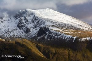 Scafell from Yewbarrow