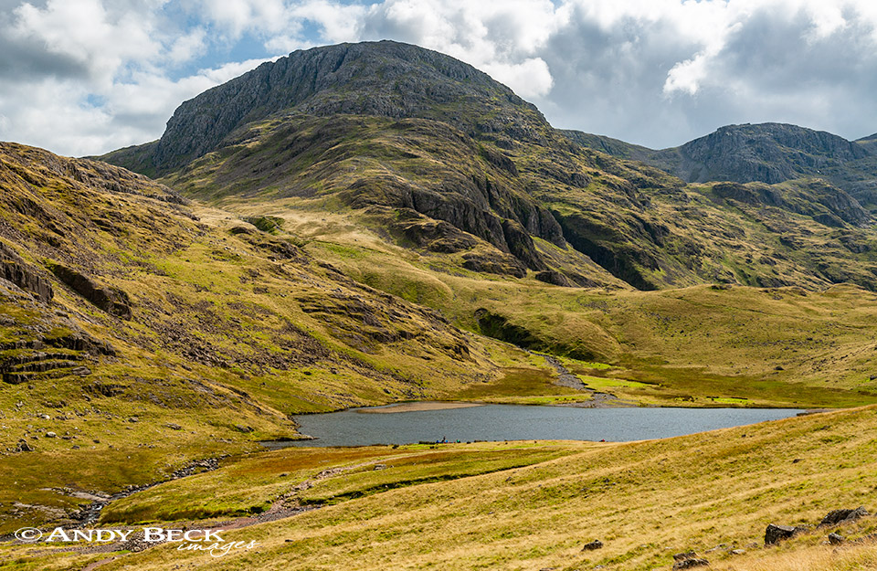 Great End and Styhead tarn