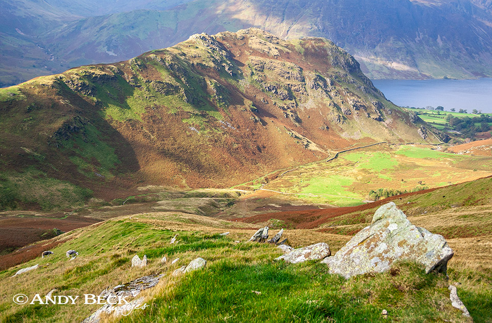 Rannerdale Knotts from Whiteless Pike
