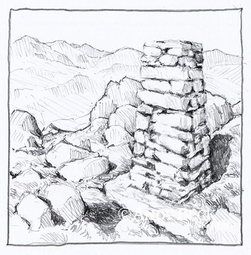 Harter Fell (Eskdale) summit